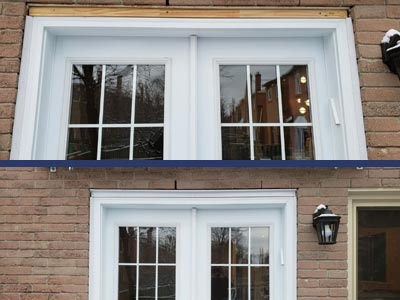 Windows and Door Capping